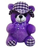 Natali Cap Teddy (20 cm,Purple)