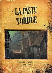 Ystari Games - Sherlock Holmes - La Piste Tordue