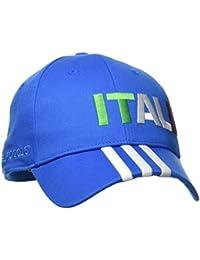 adidas CF 3S Cap ITA - Gorra unisex, color azul/blanco