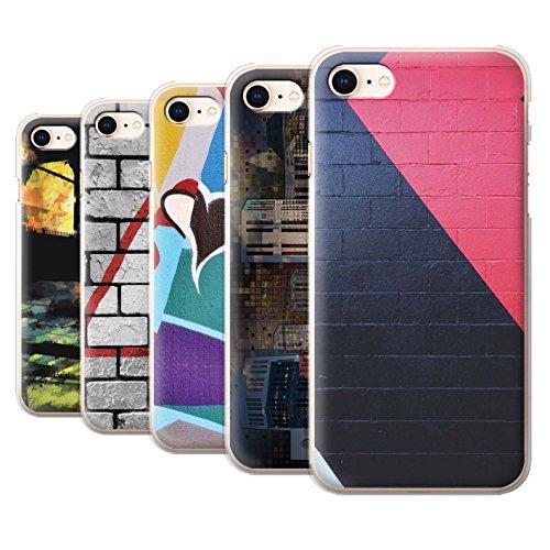 Stuff4 Hülle / Case für Apple iPhone 8 / Reise/Schiff Muster / Städtisch Straße Kunst Kollektion Pack 12pcs