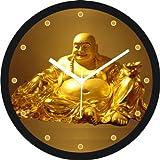 Regent laughing buddha Wall Clock