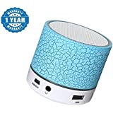 SoRoo BLUETOOTH SPEAKER With LED LIGHT & USB With One Year Warranty