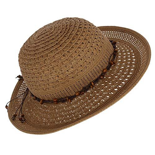 f2c1393e500c4 Jeanne Simmons - Gorro de Pescador - Liso - para Mujer Marrón Canela Talla  única