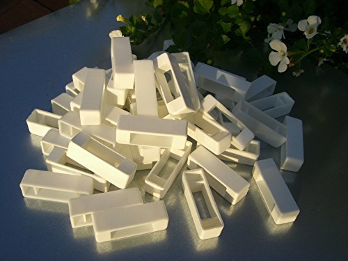 simonthebeekeeper 50 Narrow bee hive plastic frame ends/spacers 3