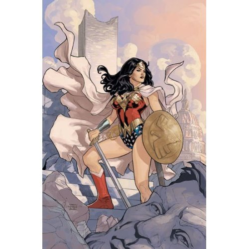 Wonder Woman # 13Poster (gerollt) von Terry Dodson & Rachel Dodson 61x 91,4cm Terry 13