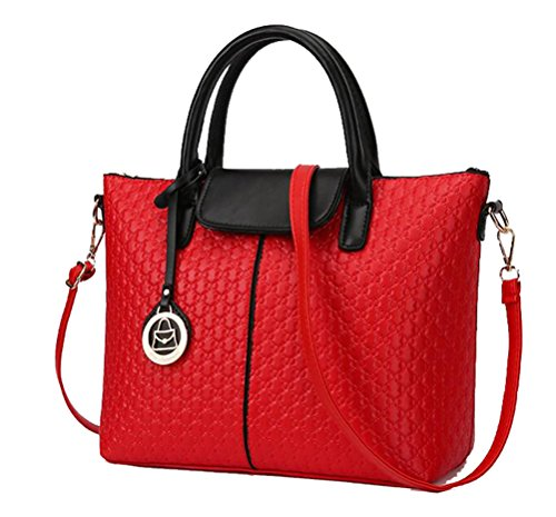 Yan Show, Borsa a tracolla donna nero Black and Red Red and black