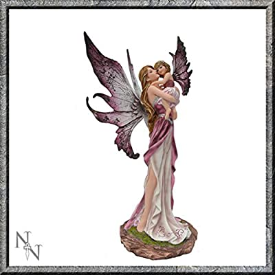 Precious Moments Mother And Daughter Child Fairy Figurine 25cm Nemesis Now