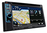 Kenwood  DNX4210BT All-In-One Navigationssystem mit DVD-Spieler (VGA Doppel-DIN-Monitor, Bluetooth, Apple iPod-ready, USB 2.0) schwarz