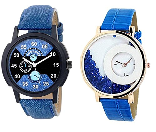 Neo Victory™ Analog Multicolor Dial For Men's and Women's Watch (Pack of 2)