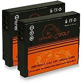 Bundle - 2x Power Batería DMW-BCM13E DMW-BCM13 para Panasonic Lumix DMC-LZ40   DMC-FT5   DMC-TS5   DMC-TZ37   DMC-TZ40   DMC-TZ41   DMC-TZ55   DMC-TZ56   DMC-TZ60   DMC-TZ61   DMC-ZS30   DMC-ZS35   DMC-ZS40 y mucho más... [ Li-ion; 1400mah; 3.6V ]