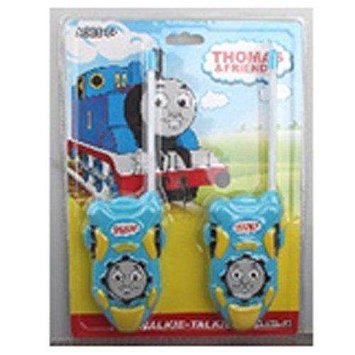 Thomas und Friends Story Time Batteriebetrieben Walkie Talkie Set Hohe Reichweite für Outdoor/Indoor-Umgebung einfach-Design, ideal Spielzeug für und Junge Kind Kinder (Molle Hals)