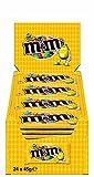 M&M's Erdnuss Single, 24er Pack (24 x 45 g)