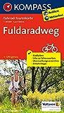 Fahrrad-Tourenkarte Fuldaradweg: Fahrrad-Tourenkarte. GPS-genau. 1:50000.: Fietsroutekaart 1:50 000 (KOMPASS-Fahrrad-Tourenkarten, Band 7039)