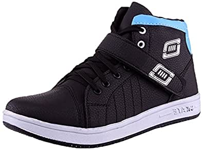 Freedom Daisy Men's Blue/Black Synthetic Casual Shoes (6, Blue/Black)