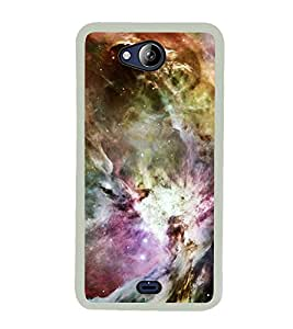 Colourful Pattern 2D Hard Polycarbonate Designer Back Case Cover for Micromax Canvas Play Q355