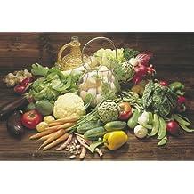 Comida Verdura Fresca de frutas y verduras. Publicidad Paper Póster mide 36x 24pulgadas (91,5x 61cm).