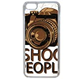 Générique Coque i Shoot People Compatible iphone 7 Plus Transparent