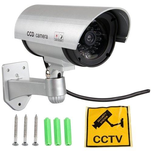 Camara de videovigilancia Flasa IR LED Dummy para Seguridad