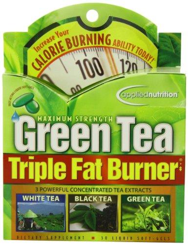 Applied Nutrition Green Tea Triple Fat Burner 30 Liquid Soft Gels