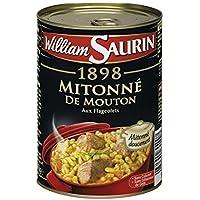 William Saurin Mitonne de mouton La boîte de 420g - Prix Unitaire - Livraison Gratuit Sous 3 Jours