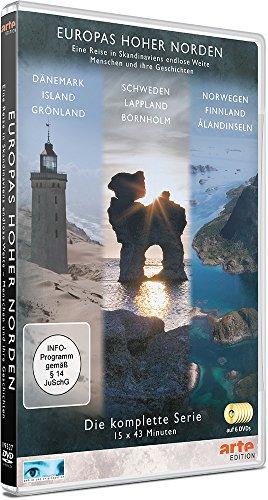 Europas Hoher Norden (Box, 6 DVDs): Schweden, Lappland, Bornholm, Dänemark, Island, Grönland, Norwegen, Finnland und die Ålandinseln