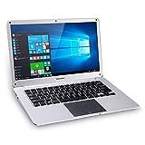 """Ordinateur Portable, Great Wall W1410A, Longue Durée Autonomie, Intel Celeron Apollo Lake N3350,14"""" Écran,1366 * 768 TN, Windows 10, 4GO RAM 64GO ROM,10000mAh, 37W, WiFi Bluetooth LAN Port- Argent"""