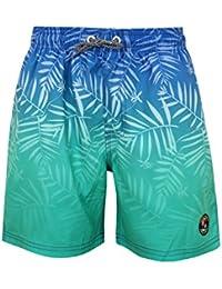 Tokyo Laundry Boys Cleopas Designer Tropical Print Swimming Shorts