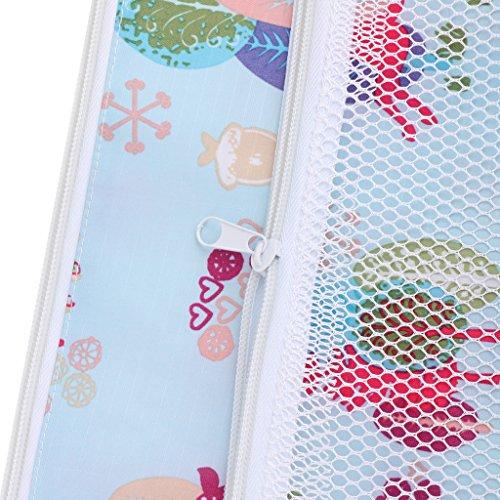 Baby Wiederverwendbare Nass und Trocken Windel Beutel Organisator Beutel Printing Wickeltasche - Farbe3 Farbe10