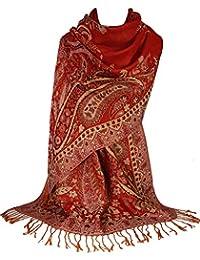 GFM® Marchio Sciarpa di design a mosaico in stile pashmina (MSC)