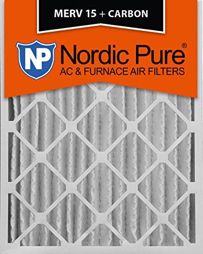 Nordic Pure Merv 15Plus Carbon AC Ofen Air Filter Menge: 1 16x20x4M