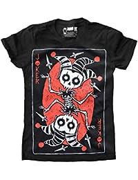 Akumu Ink - T-shirt - Manches Courtes - Femme Noir noir