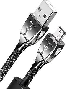 Audioquest Diamond 0 75 M 2 15 2 Cm Usb A Zu Mini Digital Audio Kabel Computer Zubehör