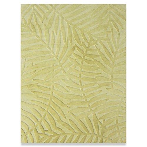Sizzix strukturiert Impressions-Tropical Blätter von Sophie guilar, Mehrfarbig, 16,8x 12,3x 0,4cm -