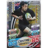 Topps Rugby Attax 2015 Tana Umaga Centre Legend Trading Card by Rugby Attax
