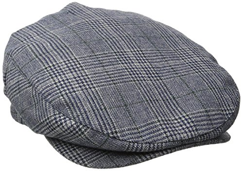 Brixton Cap BARREL  Navy Plaid, M (Plaid-rock Navy)
