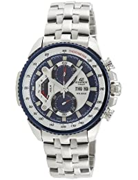 Casio Edifice Tachymeter Chronograph Multi-Color Dial Men's Watch - EF-558D-2AVDF (ED437)