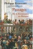 Passages - De la Renaissance au Baroque (1CD audio)