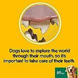 Pedigree DentaStix Hundesnack für große Hunde (25kg+), Zahnpflege-Snack mit Huhn und Rind, 10 Packungen je 7 Stück (10 x 270 g) - 5
