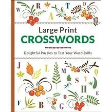 Large Print Crosswords (Large Print Puzzles)