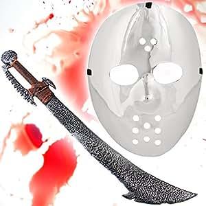 HALLOWEEN set spécial - michael myers mask Miroir+ épée ORC