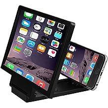 3D Mobile Pantalla del Telefono Lupa - TOOGOO(R)3D Mobile Pantalla del Telefono Lupa Amplificador de Video HD para Telefonos Inteligentes Negro