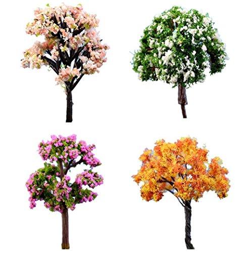 Test Lumanuby 3 Miniatur Baum Modelle Pflanzenbaum Modell
