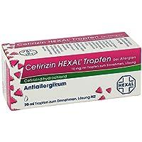 Preisvergleich für Cetirizin Hexal Tropfen b. Allergien 20 ml
