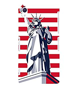 Statue of Liberty 3D Hard Polycarbonate Designer Back Case Cover for Sony Xperia Z2 :: Sony Xperia Z2 L50W D6502 D6503