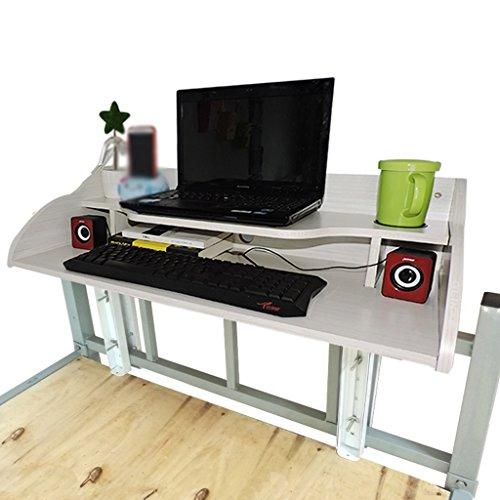 Schwimmender Schreibtischschlafzimmer Artefakt Schlafzimmer Oberer Schlafplatz Artefakt Lazy Schreibtisch Schwimmender Notizblock Computer Schreibtisch ( farbe : B )