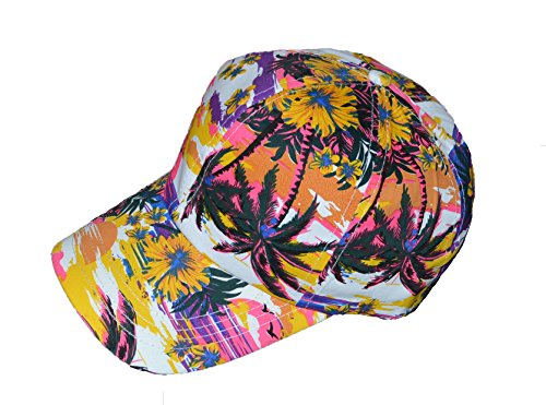 Cool-hawaiano-impresin-Base-Ball-Cap-Multi