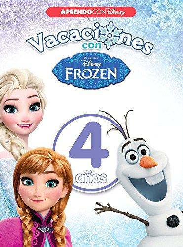 Vacaciones con Frozen. 4 años (Aprendo con Disney) por Disney