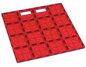Playmags Placa estabilizadora de construcciones súper Duradera de 12x12, con asa de Transporte para Jugar fácilmente. Accesorio Fabuloso para Todas Las Colecciones de Placas magnéticas