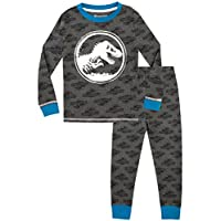 Jurassic World Boys Glow in The Dark Pyjamas Snuggle Fit