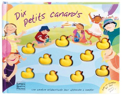 Dix petits canards : Une aventure claboussante pour apprendre  compter